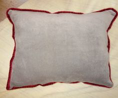 How to make a pillow with corded trim