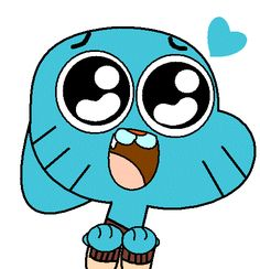 gumball blue gif