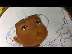 Pintura En Tela Charrito Distraído # 1 Con Cony - YouTube