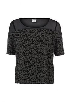 Блуза Vero Moda женская. Цвет: серый. Сезон: Осень-зима 2013/2014. С бесплатной доставкой и примеркой на Lamoda. http://j.mp/WNkUWe