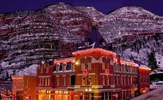 Beaumont Hotel & Spa, Ouray, CO