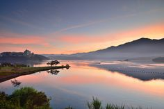Sunrise at Sun Moon Lake Taiwan 明潭晨曦 by Vincent_Ting