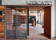 Mercato - Shortlist 2013 Restaurant & Bar Design Awards - Shanghai, Cina - 2013 - Neri & Hu Design and Research Office Industrial Apartment, Industrial Bedroom, Industrial Interiors, Industrial House, Industrial Lighting, Industrial Wallpaper, Industrial Style, Industrial Restaurant, Industrial Chair