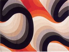 English textile designer Barbara Brown produced these superb textiles in the 60s and 70s.