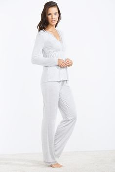 women'secret | SOFT TOUCH | Pijama largo con encaje