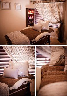 www.michellemellet.co.za || day spa || massage therapy room || esthetician room || aesthetician room || esthetics || skin care || body waxing || hair removal || body scrub || body treatment room