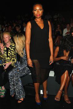 Jennifer Hudson à la Fashion Week de New York