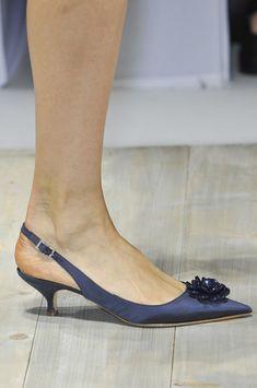 Blugirl at Milan Fashion Week Spring 2014 - Details Runway Photos Shoe Boots, Shoes Sandals, Beautiful High Heels, Pretty Shoes, Fashion Shoes, Milan Fashion, Womens High Heels, Low Heels, Spring 2014