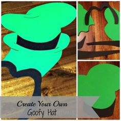 Make your own Goofy Hat #DisneySide #craft