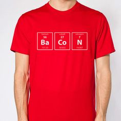 Donkey Tees - Bacon Chemistry M, $16, now featured on Fab.