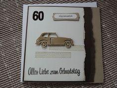 Marias - Papier - Kunst - Stückchen: Für den Autoliebhaber
