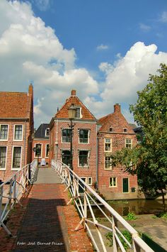 Appingedam... pretty sure I have ridden my bike over this bridge more than once :)