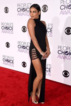 Shay attending the People's Choice Awards 2016 at Microsoft Theater on January 6, 2016 in Los Angeles, California.