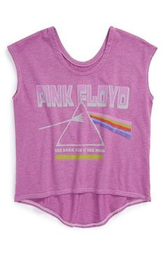 Chaser 'Wish You Were Here' High/Low Graphic Tee (Toddler Girls) available at #Nordstrom