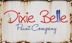 Dixie Belle Paint Company produces high quality chalk paint and more! Diy Painting, Painting On Wood, Diy Projects On A Budget, Painted Boards, Painted Wood, Paint Brands, Dixie Belle Paint, Paint Furniture