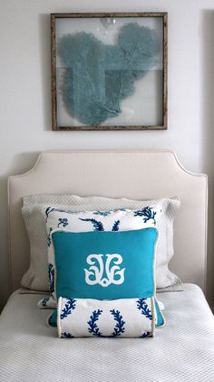 sea fans - you can buy these at Scott's for $5 and spray paint them.