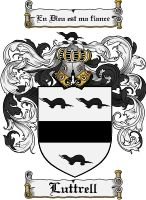 Luttrell Coat of Arms / Luttrell Family Crest
