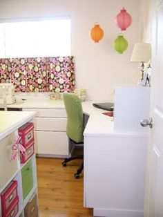 Craft room from Jodi- Featured on TCB
