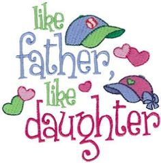 Dear Daughter 5 - 2 Sizes! | Tags | Machine Embroidery Designs | SWAKembroidery.com Bunnycup Embroidery