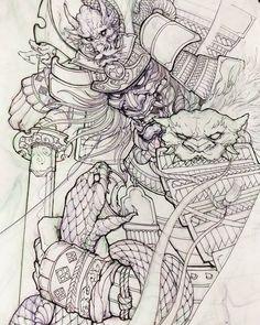 Samurai and snake. Samurai and snake. Samurai Tattoo, Samurai Drawing, Samurai Artwork, Kabuto Samurai, Ronin Samurai, Japanese Tattoo Art, Japanese Tattoo Designs, Japanese Tattoo Samurai, Irezumi Tattoos