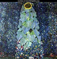 Sunflower - Gustav Klimt - www.klimtgallery.org