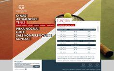 WARSZAWIANKA Sport Club - webdesign by MiltonBrown , via Behance