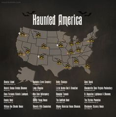 Visit one of America's haunted places this Halloween!