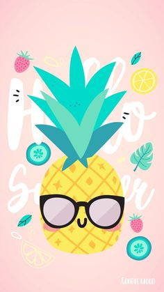 25 pineapple wallpapers to adorn your phone 25 pineapple wallpapers to adorn your phone Unicornios Wallpaper, Kawaii Wallpaper, Pastel Wallpaper, Cute Wallpaper Backgrounds, Wallpaper Iphone Cute, Tumblr Wallpaper, Wallpaper Quotes, Cute Summer Wallpapers, Summer Backgrounds