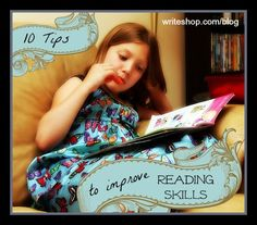 Whether your child is falling behind or you want to give her a headstart in reading, here are some easy things you can do to improve reading skills.