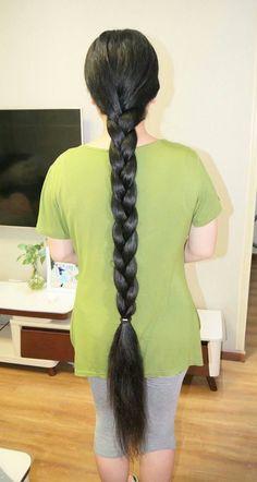 Girl Hairstyles, Braided Hairstyles, Indian Long Hair Braid, Thick Braid, Braids For Long Hair, Rapunzel, Hair Goals, Waiting, Dreadlocks