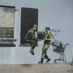 Unofficial: Banksy #banksy