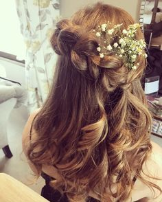 Bridesmaids hair ide