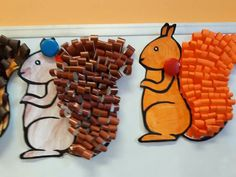 Autumn Crafts, Art Classroom, Fine Motor, Elementary Schools, Origami, Alphabet, Kindergarten, Crafts For Kids, Preschool
