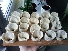 Pampuchy - wszystko o gotowaniu: Uszka z grzybami na wigilijną noc