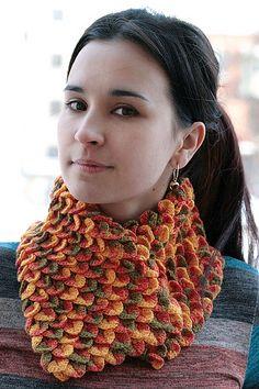 Ravelry: catrionaobrians Desert Snake scarf
