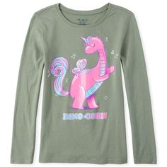 GIRLS LONG SLEEVED TOP T-SHIRT SMURFS 3-12 YEARS OLD