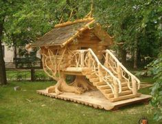 Cubby Houses, Dog Houses, Play Houses, Chicken Coop Designs, Chicken Coops, Chicken Houses, Fancy Chicken Coop, Wood Projects, Woodworking Projects