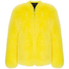 Fluorescent Fox Fur Jacket | Moda Operandi (€15.600) ❤ liked on Polyvore featuring outerwear, jackets, neon yellow jacket, fluorescent jacket, fox fur jacket, neon jacket and yellow jacket Fox Fur Jacket, Neon Yellow, Balmain, Outerwear Jackets, Womens Fashion, Polyvore, Coats, Outfits, Wraps