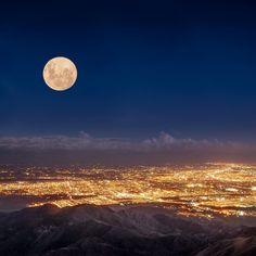 Lee en aprendofotografia.com como hacer una buena foto a la #superluna #moon #luna #fotografia #amateurphotography