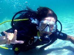 Ibiza diving. Absolute fun