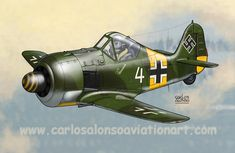 Focke Wulf Fw 190A-5 Walter Nowotny, I./JG 54 'Grünherz', Russia, summer 1943