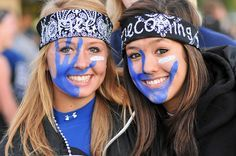 school spirit face paint ideas - Google Search