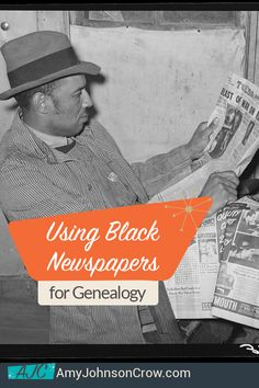 Black newspapers are essential in African American genealogy. Learn how to identify which ones to look in and what you'll find (and why everyone should be using them). Generations Cafe podcast show notes. African American Genealogy, Native American Ancestry, Native American History, British History, Irish American, American Civil War, American Women, Family Research, My Family History
