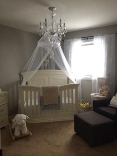 1000 ideas about canopy over crib on pinterest chic for Canopy over crib