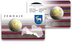 Letland 2 Euro 2018 Semgallen nu al leverbaar! Letter F, 5 Cents, Euro