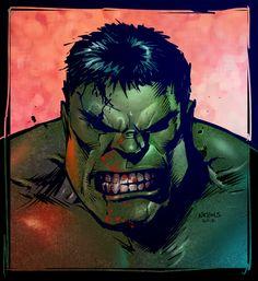 #Hulk #Fan #Art. (Hulk Sketch Colored) By: VegasDay. (THE 5 STÅR ÅWARD OF: AW YEAH, IT'S MAJOR ÅWESOMENESS!!!™)