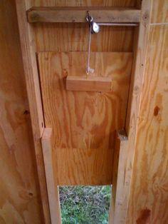 Chickcribs's Chicken Coop door - BackYard Chickens Community