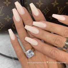 40 Pretty Nude & Ombre Acrylic And Matte White Nails Design For Short And Long N. - 40 Pretty Nude & Ombre Acrylic And Matte White Nails Design For Short And Long Nails Page 1 - Ivory Nails, Matte White Nails, White Acrylic Nails With Glitter, Long White Nails, White Nails With Glitter, Gold Glitter, Nude Nails With Glitter, Purple Nails, White Acrylics
