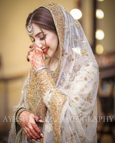 Photo credit DM/WhatsApp for promotions Pakistani Wedding Outfits, Wedding Dresses For Girls, Bridal Outfits, Pakistani Dresses, Indian Outfits, Nikkah Dress, Pakistani Bridal Makeup, Bridal Lehenga, Indian Bridal