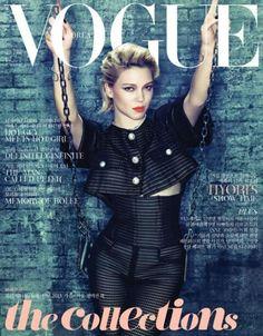 Léa Seydoux - Vogue Korea - Vogue Korea May 2013 Cover